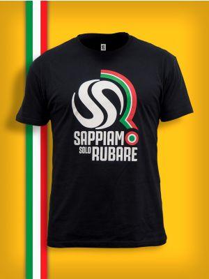 T-Shirt Sappiamo Solo Rubare Uomo
